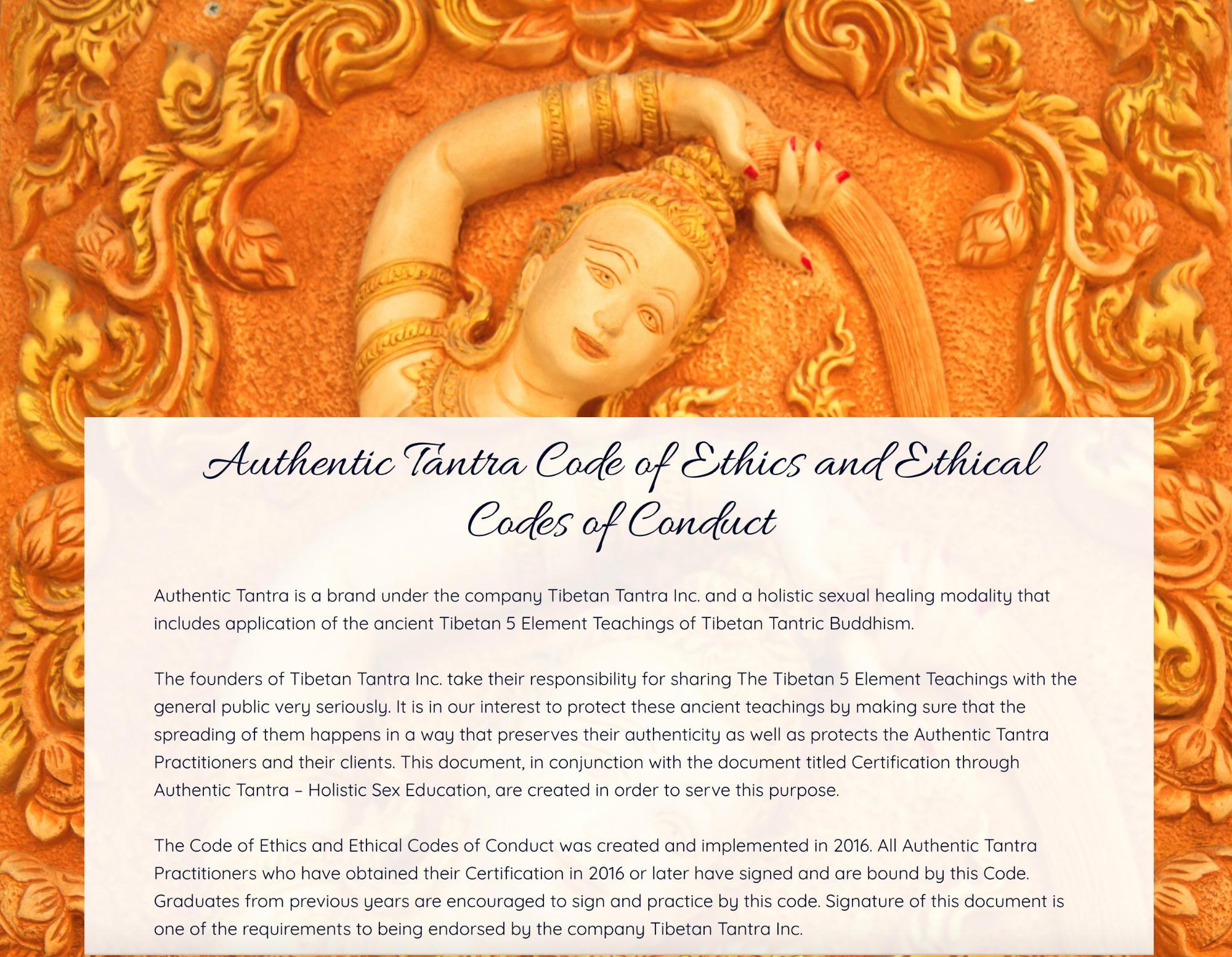 a reflection on the code of ethics and teachings of buddhism From the early days of buddhism, ethical conduct was as central to the path as meditation, study, and contemplation  to adhere to a code of conduct and the laws .